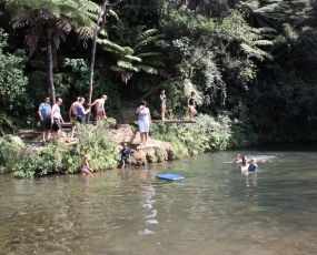 Swimming water hole